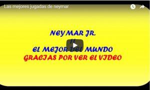 Las mejores jugadas de neymar.