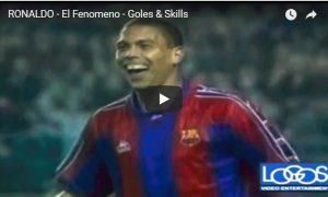 RONALDO – El Fenomeno – Goles & Skills.