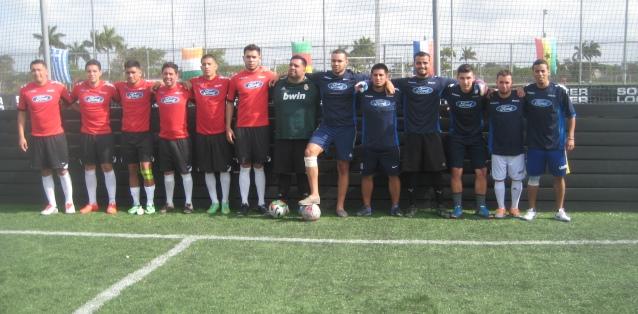 """Soccer Champion 5×5 """"La Oficina de Kendall"""" team will represent the United States in the World Soccer 5×5 event in Dubai"""