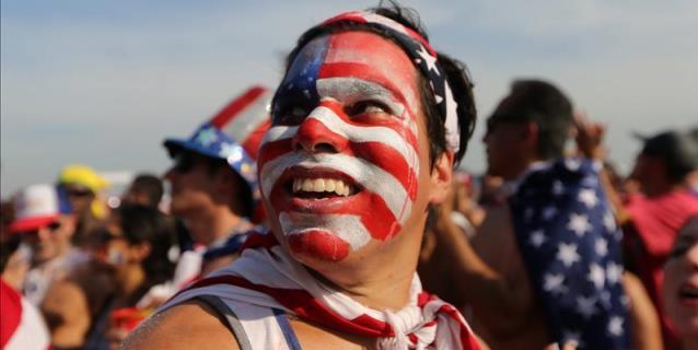 La final del Mundial Brasil 2014 fue vista por 26,5 millones de espectadores en EE.UU.