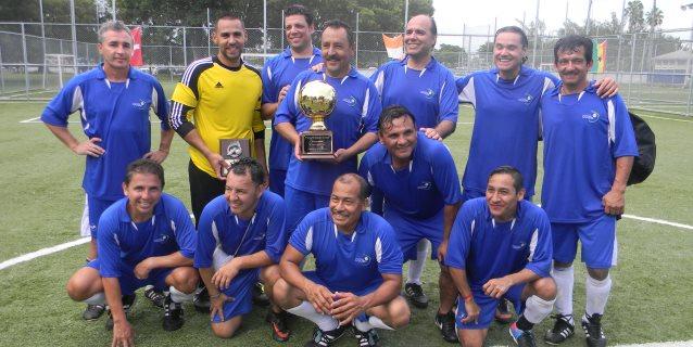 La seleccion de Guatemala flamante Campeón del primer 'Mundialito de Kendall'. (Foto: Primicia Deportiva.com)