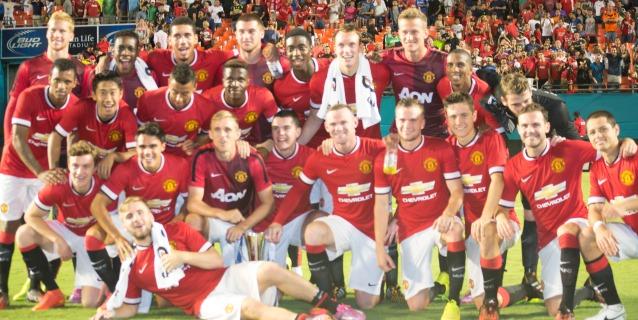 Manchester United se lleva la Guinnes Champions Cup al vencer al Liverpool
