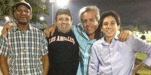 """Carlos """"Cacho"""" Moscoso ex jugador y directivo de """"Zona Rosa"""" paso por Miami"""