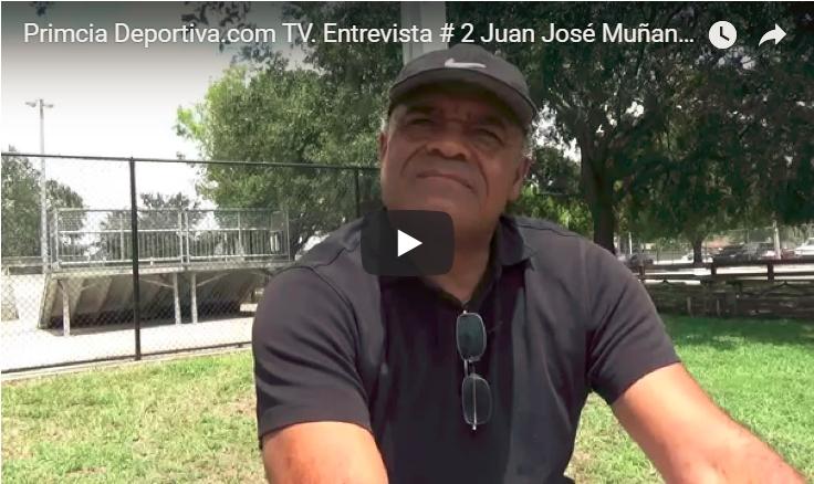Primcia Deportiva.com TV. Entrevista # 2 Juan José Muñante. Mejor extremo derecho de su Epoca.