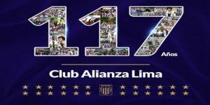 ¿Qué clubes felicitaron a Alianza Lima por su 117 aniversario?