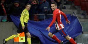 1-0. El Atlético y Correa aún creen en la Liga
