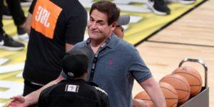 """Mark Cuban multado con 600.000 dólares por comentarios de """"dejarse ganar"""""""