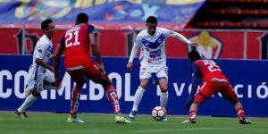 3-2. El Nacional gana el primer 'asalto' ante el San José en la Sudamericana