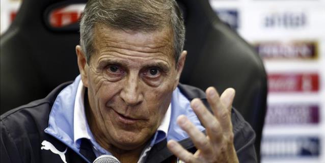 Tabárez espera que Uruguay se torne difícil para cualquier rival en Rusia