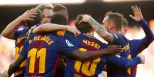El Barcelona retoma su carrera por la Liga ante el Sevilla