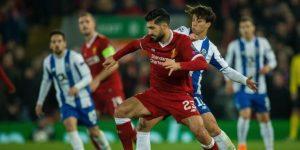 0-0. El Liverpool cumple con el trámite
