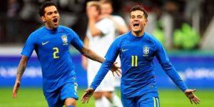 0-3. Brasil gana sin Neymar con más goles que juego