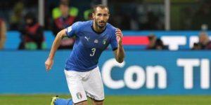 Chiellini deja la concentración de Italia por problemas musculares