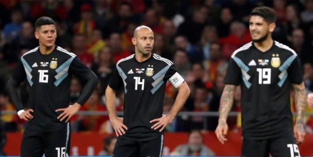 Argentina encaja un 6-1 por tercera vez en su historia