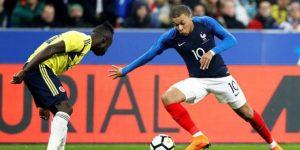2-3 Colombia conquista el Estadio de Francia a tres meses del Mundial