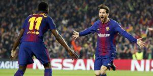 3-0. Messi sobrevuela sobre el Chelsea para llevar al Barcelona a cuartos