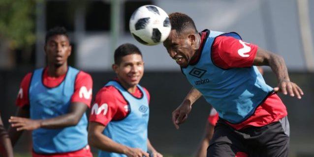 La selección de Perú trabajo por segundo día pensando en Croacia