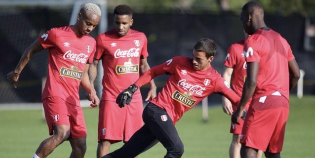 Perú realizó su primera práctica en Fort Lauderdale