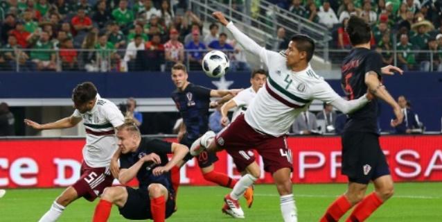 México cae 1-0 ante Croacia en una noche de pesadilla