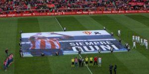 Quini homenajeado de nuevo en El Molinón, estadio que llevará su nombre