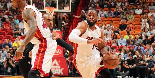 108-99. Whiteside y Wade formaron la combinación ganadora de Heat