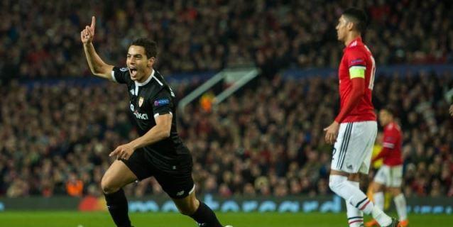 1-2. Ben Yedder castiga la racanería del United y alarga el sueño del Sevilla