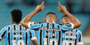 Gremio sofoca una rebelión de Monagas con cuatro goles en la Libertadores