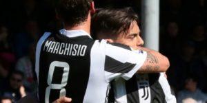 Un triplete de Dybala permite a la Juventus fortalecer su liderato