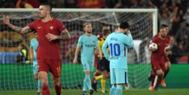 La Roma obra el milagro ante un desconocido Barcelona