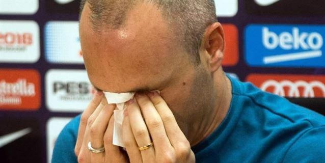Andrés Iniesta anuncia que dejará el Barça al final de la temporada