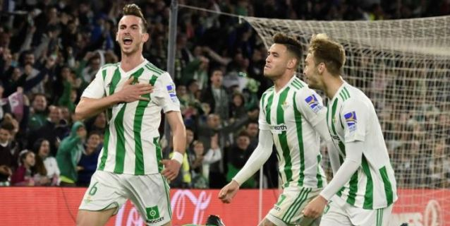 2-1. El Betis certifica su vuelta a Europa cinco temporadas después