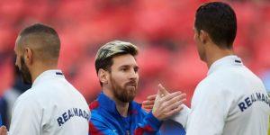 Cristiano Ronaldo, Messi y Kane en un vídeo del FIFPro del Día Internacional del Trabajo