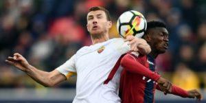 La Roma empata en su visita al Bolonia a días de viajar al Camp Nou