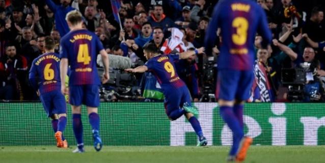 El Barcelona pone pie y medio en las semifinales de la 'Champions'