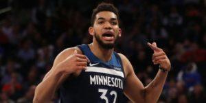 Towns y LeBron a la altura de los grandes en la NBA