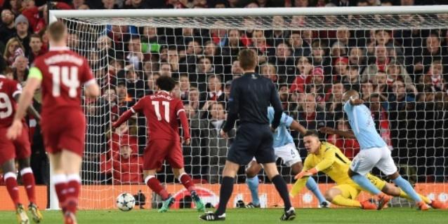 El Liverpool sacude al City y roza las semifinales de Champions