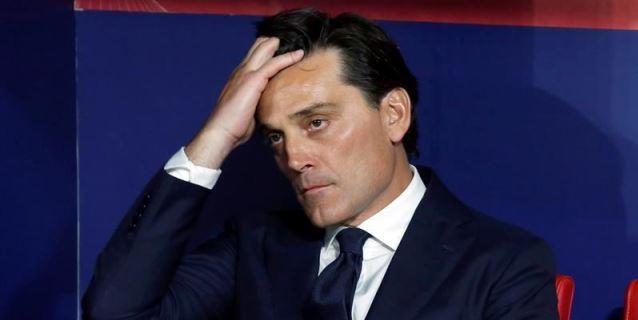 Montella, destituido como entrenador; Caparrós nuevo técnico
