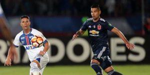 0-0. El Cruzeiro le roba un punto a la U de Chile en un duelo vibrante