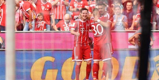 El Bayern golea con suplentes; el Hamburgo se aferra a la permanencia