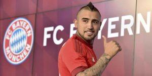 El chileno Arturo Vidal, baja en el Bayern el resto de la temporada