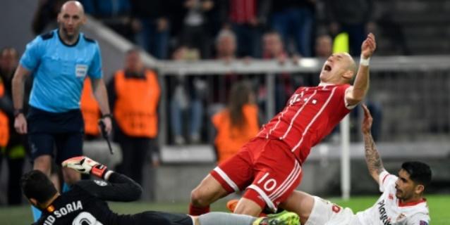 El Bayern pasa apuros para eliminar al Sevilla en cuartos de Champions