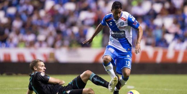 El colombiano Marrugo anota un gol y mantiene al Puebla vivo en el Clausura