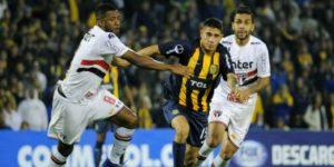 Sudamericana: Sao Paulo se llevó un buen empate de su visita a Rosario