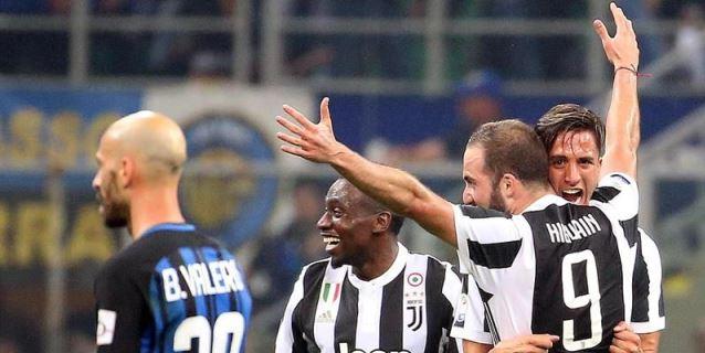 Higuaín hunde a Inter en San Siro en el 90 (3-2) y mantiene líder al Juventus
