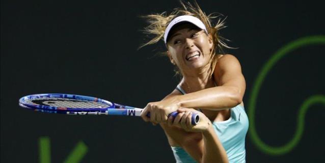Sharapova disputará el torneo de Birmingham, antesala de Wimbledon
