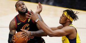 105-101. James, con 45 puntos, pone a los Cavaliers en las semifinales ante los Raptors