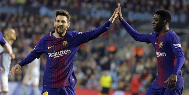 2-2. El Barcelona sobrevive en Balaídos al acoso del Celta