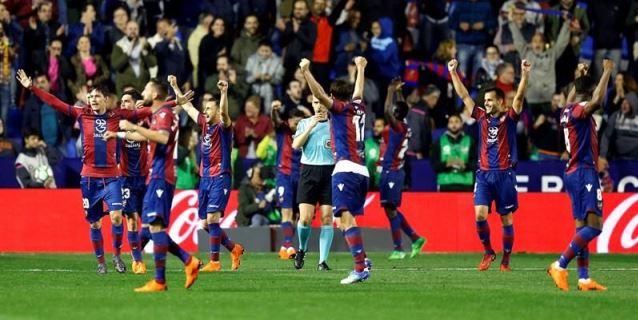 1-0. El Málaga pierde la categoría ante un Levante más cerca de la permanencia