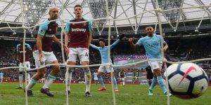 El Manchester City golea al West Ham y enfila nuevos récords
