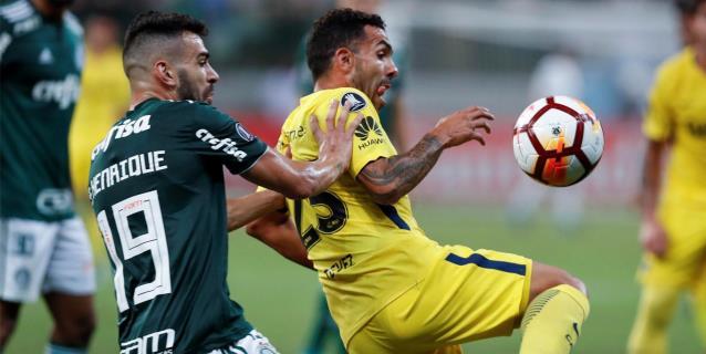 Empate con suspense final entre Palmeiras y Boca en Grupo 8 de Libertadores
